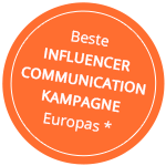 Beste Influencer Communication Kampagne Europas*